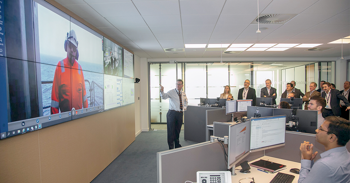Direct connection with people in the field helps control room personnel resolve problems.